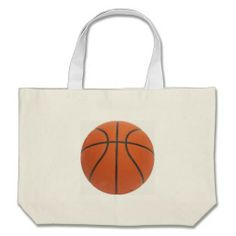 $19.00 Custom Totes. Call for larger quantity pricing. #sports #totebags #basketball #marchmadness #partyfavors