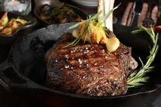 Rib-eye Steak with Chipotle Butter
