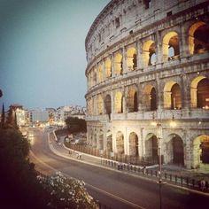 The Colosseum in Rome via @gminas01