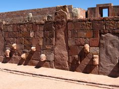 Tiwanaku: Spiritual and Political Centre of the Tiwanaku Culture, Province of Ingavi, Department of La Paz, Bolivia (Plurinational State of). Inscription in 2000. Criteria: (iii)(iv)
