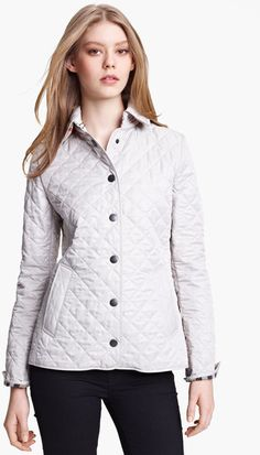Burberry Copton Quilted Coat