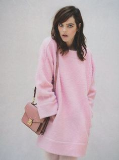 Pink pull over #knitwear #fashion #style // February
