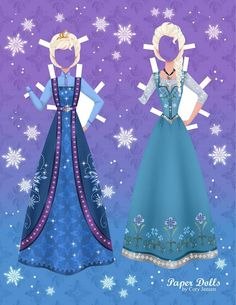 Bambole Carta Frozen 11