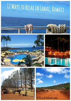 Looking for ideas on a relaxation vacation in Hawaii? Travel expert Andy Hayes suggests the island of Lanai. Hawaii Honeymoon, Hawaii Vacation, Vacation Places, Hawaii Travel, Vacation Trips, Dream Vacations, Vacation Spots, Travel Usa, Places To Travel