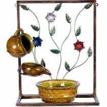 Fonte De Água De Parede Decorativa Em Cerâmica