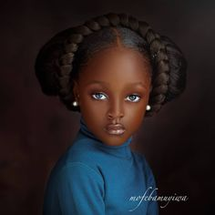 Art Black Love, Beautiful Black Babies, Black Girl Art, The Most Beautiful Girl, Beautiful Children, Beautiful Eyes, Black Girl Magic, Beautiful Dark Skinned Women, Stunningly Beautiful