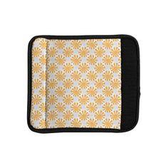 Kess InHouse Apple Kaur Designs 'Sunburst' Gray Luggage Handle Wrap