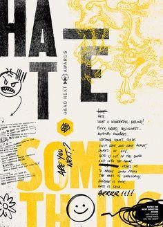Graphic Design  Brazilian agency F/Nazca Saatchi & Saatchi designs D&AD creative campaign