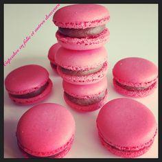 Macarons Choco/framboises