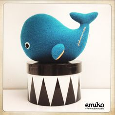 Personalized Whale for Johannes Toys For Boys, Whale, Boy Or Girl, Dinosaur Stuffed Animal, Girls, Animals, Stuffed Toys, Toy, Little Girls