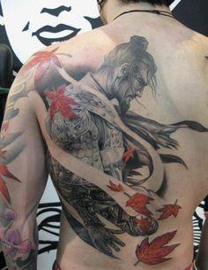 23 Japanese Warrior tattoo