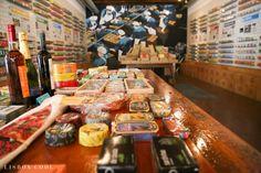 """Résultat de recherche d'images pour """"fábrica de conservas lisboa"""" Fishing World, Portugal Travel, Cheese, Canning, Cool Stuff, Food, Girl Scouts, Travel Tips, Places"""