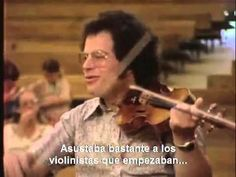 Perlman on how to do staccato (subtitulado).....Cosa dice :) A Masterclass is a masterclass :)))