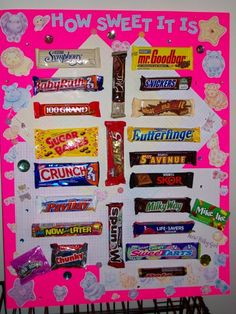 The Candy Bar Game Is Great For And Party! You Match The Candy Bars Up