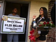 #gerardRivera #Congratulations and I want to be next one where #PCH #Sets theCompassToGoWEST!!! Go West or BUST!!!