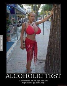 Alcoholic test - http://www.jokideo.com/
