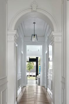 Awesome Victorian Hallway Lighting Ideas for Classic Home - Page 14 of 26 Hall Lighting, Entryway Lighting, Stair Lighting, Lighting Ideas, Lighting Stores, Lighting Design, Narrow Hallway Decorating, Foyer Decorating, Decorating Ideas