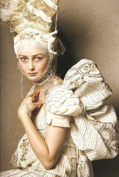 Steven Meisel for Vogue Italia 2008, Stylist: Edward Enninful