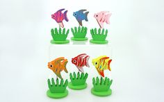 You may be a keen fisher man or keep fish as a hobby. Buy one of these fishy note holders and keep it on your desk. from Clover Fields Clover Field, Note Holders, Fishing Gifts, Handmade Soaps, Tropical Fish, Your Favorite, Fisher, Fields, Great Gifts