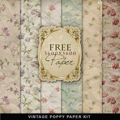 Free vintage papers 3600x3600