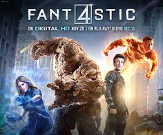 Fantastic 4 BluRay Giveaway