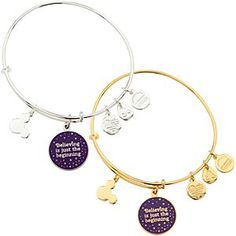 Disney Tinker Bell ''Believing is just the beginning'' Bangle by Alex and Ani