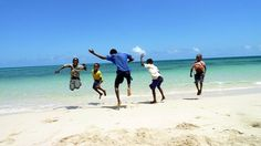 Kids playing for the camera at North Mafia Island, Tanzania Timeline Photos, Mafia, Kids Playing, In This Moment, Island, Beach, People, Outdoor, Life