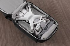 Phantom Series is a backpack for all the Phantom drone from DJI. Thanks to its hardshell this backpack is strong and water resistant keeping your drone and laptop safe no matter the environment. Th…