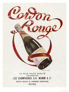 Mumms Cordon Rouge Champagne