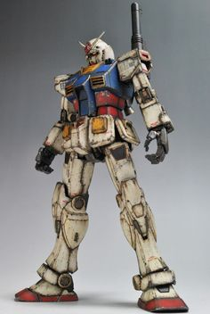 Weathered or Damaged Mecha