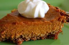 Maple Pumpkin Pie with Almond Crust - Beyond VitalityBeyond Vitality