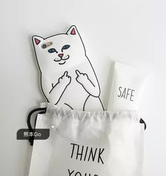Add humor to your protective iPhone case through this Cartoon Phone Cases For iPhone X 8 7 6 Plus 5 se Rock Cat Silicone Case. Lovely cat case looks cute and attractive. Iphone 5s, Iphone Cases, Cheap Iphones, 3d Cartoon, 5s Cases, Rock, 6s Plus, Reusable Tote Bags, Cat
