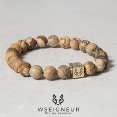 Novo Bracelete de Cubo em Prata 950 banhado a Ouro 18k e pedras naturais Warizit Verde imperial. Conheça todas as coleções no site wseigneur.com  {Entregas para todos Brasil} #wsenhor #newcolection #novacoleção #style #bracelete #manstyle #wscollectiong #ws #wseigneur