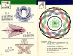 . - Spirograph Instruction Booklet…   … How to Draw... |
