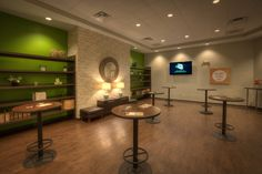 """""""Green Room"""" at NewSpring Church Greenwood Campus - Greenwood, SC (designed by a partner at Equip Studio while at a previous firm)."""