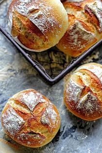 wyrośnięcia na ok 40 min 5 Love Eat, Love Food, Breakfast Desayunos, Polish Recipes, Artisan Bread, Bread Baking, Food Inspiration, Quiche, Baking Recipes