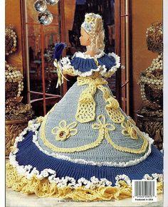 Ladies of Fashion Suzettes Paris Ball Gown Fashion Doll  Crochet Pattern  The Needlecraft Shop 962507.