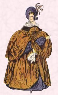 1830s witzchoura mantle