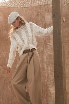 Brunello Cucinelli Spring 2020 Ready-to-Wear Fashion Show - Vogue Knitwear Fashion, Knit Fashion, Vogue Fashion, Fashion 2020, Look Fashion, Street Fashion, Fashion News, Spring Fashion, Fashion Show
