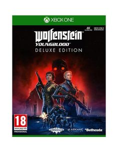 Xbox One Wolfenstein Youngblood Deluxe Edition - Xbox One in One Colour Xbox 360, Arsenal, Microsoft, Arkane Studios, Missing Father, Ww2 Weapons, The New Colossus, Bethesda Softworks, Old Blood
