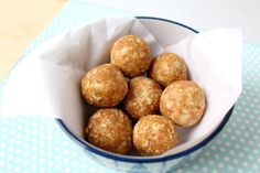 homemade apple peanut butter snack bites are the perfect healthy snack or breakfast to boost your energy!