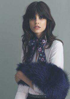 70s inspired. Antonina Petkovic by Emre Guven for Vogue Turkey August 2015