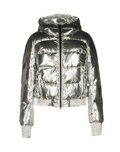 MARCELO BURLON Down jacket. #marceloburlon #cloth #dress #top #skirt #pant #coat #jacket #jecket #beachwear #