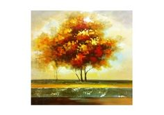 "Autumn Tree 32""x32"""