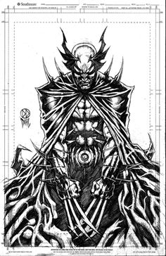 Done in pencil, this is the combination of Wolverine and Batman from the Marvel/DC crossover in the I found myself thinking of Vampire Hunter D. Tim Burton Batman, Im Batman, Marvel Dc Comics, Marvel Heroes, Comic Books Art, Comic Art, Book Art, Marvel And Dc Crossover, Vampire Hunter D