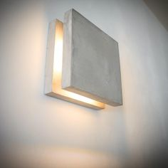 "31 Likes, 1 Comments - dtchss (@dtchss.wooden.things) on Instagram: ""SC concrete wall lamp #minimalist #concrete #LED #walllamp #walllight #lampdesign #minimalism…"""