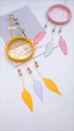 Diy Room Decor Videos, Diy Crafts For Home Decor, Diy Crafts Hacks, Diy Crafts For Gifts, Diy Arts And Crafts, Craft Stick Crafts, Creative Crafts, Kids Crafts To Sell, Cool Paper Crafts