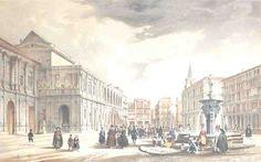 La Pila del Pato, 1ª Parte: Orígenes   Sevillanadas, Sevilla en Estampas