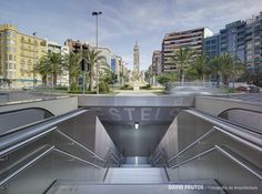 JAVIER GARCêA SOLERA Alicante, Underground Tube, Metro Subway