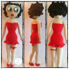 nurse doll crochet pattern - Google Search